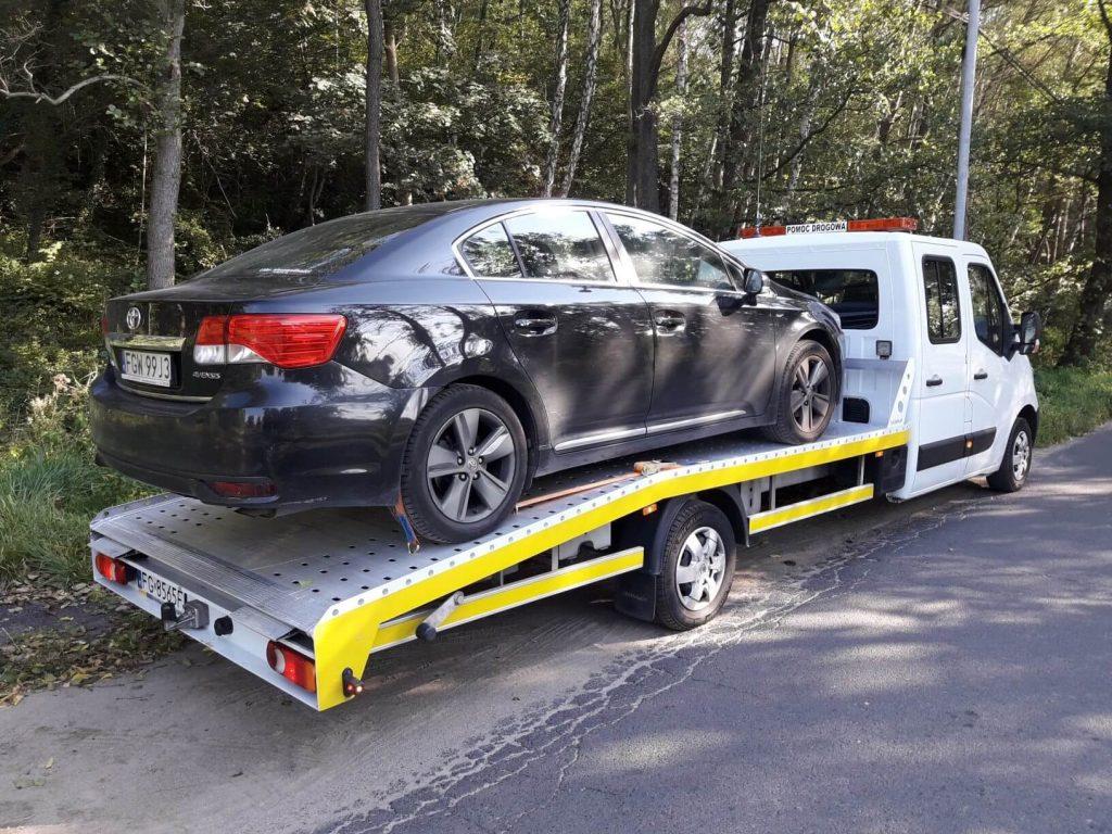 Transport samochodu z niemiec